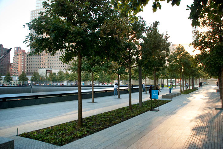 First images of the 9 11 memorial at ground zero photos - Ground zero pools ...