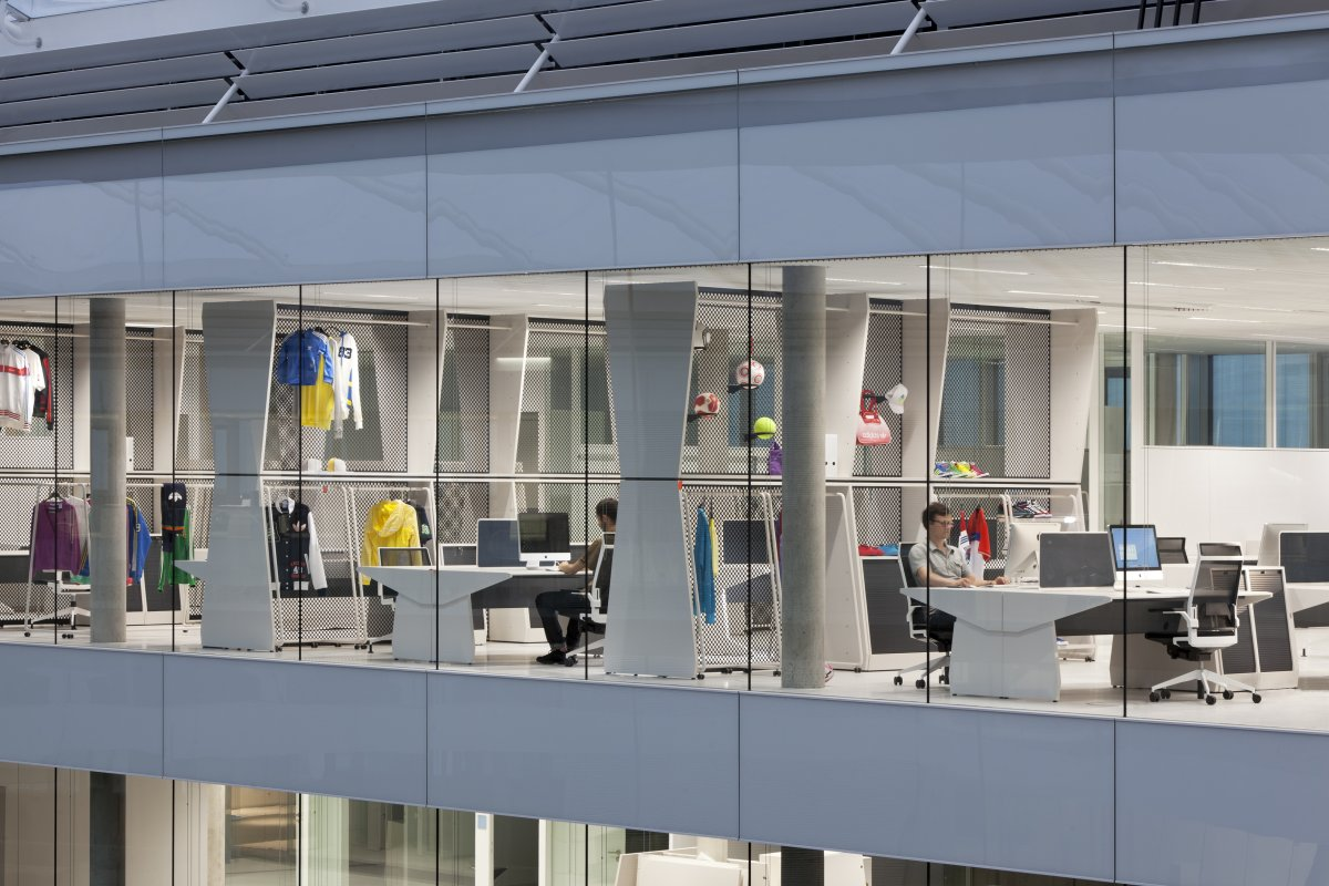 Laces The New Adidas Office In Herzogenaurach Germany