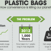 Plastic Bags – The Planet's Silent Killer [infographic]