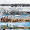NYC Skyline Over the Years (1876-2013)