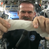 Astronaut Wringing A Wet Towel In Space Will Make Your Jaw Drop! (video)