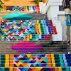 The World's Most Colorful Urban Stairs
