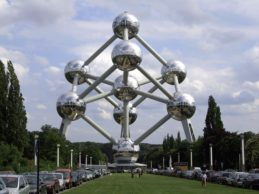 One Ball of The Atomium Has
