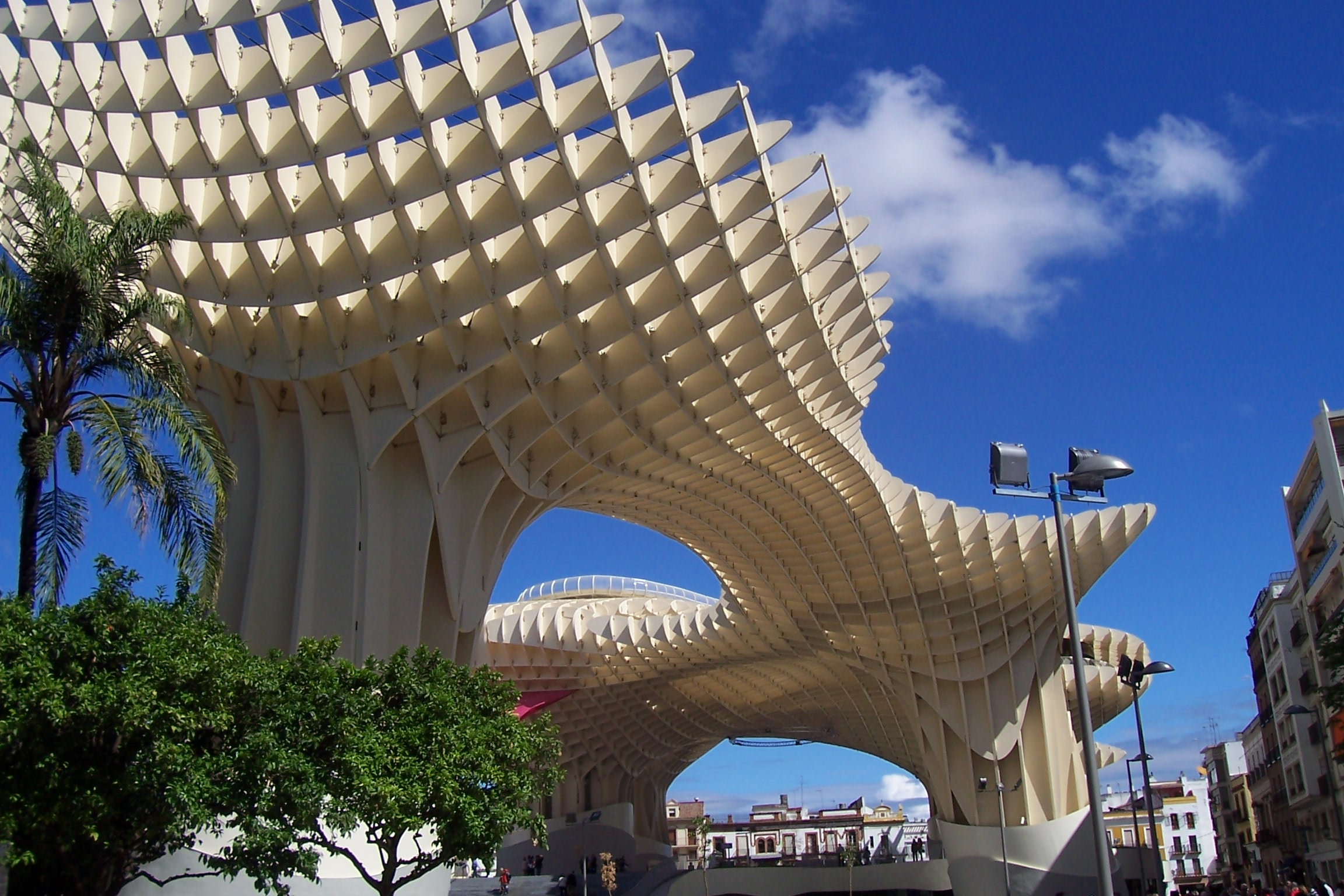 Metropol parasol the world s largest wooden structure - Metropol Parasol The World S Largest Wooden Structure 0