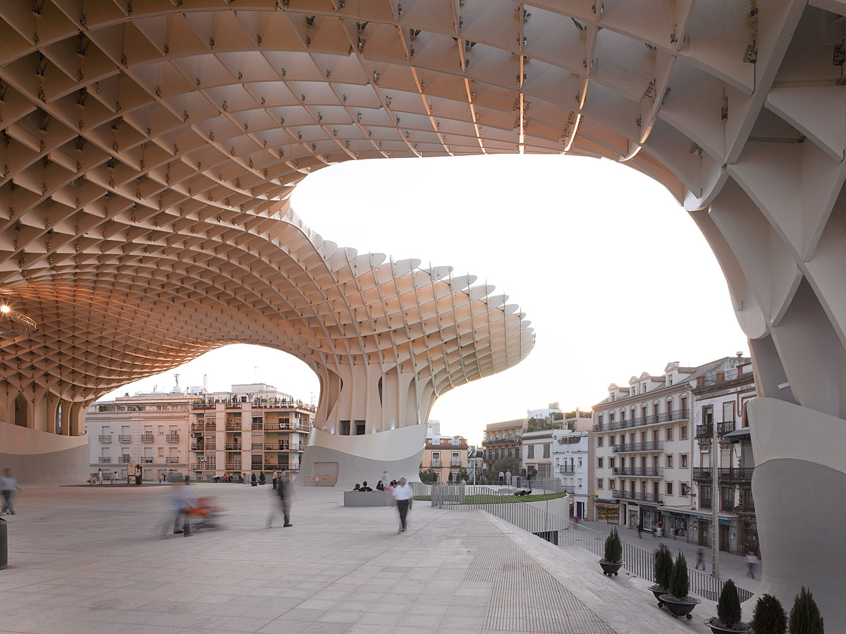 Metropol parasol the world s largest wooden structure -  Sources