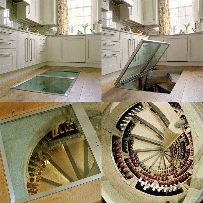 & A Hidden Wine Cellar for any Room in your House