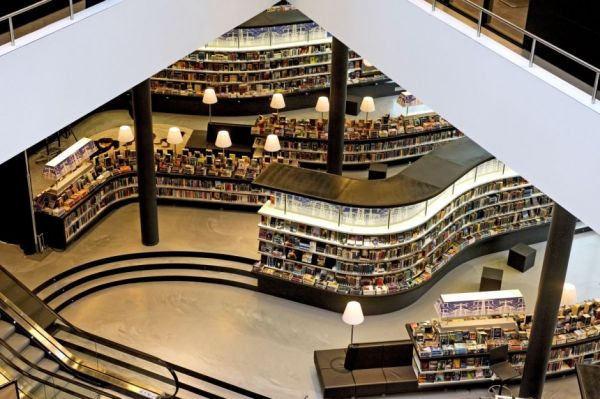 Library In Almere Netherlands