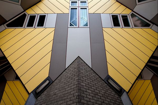 Transformers © Jean-Philippe Meurice - Cubic houses in Rotterdam