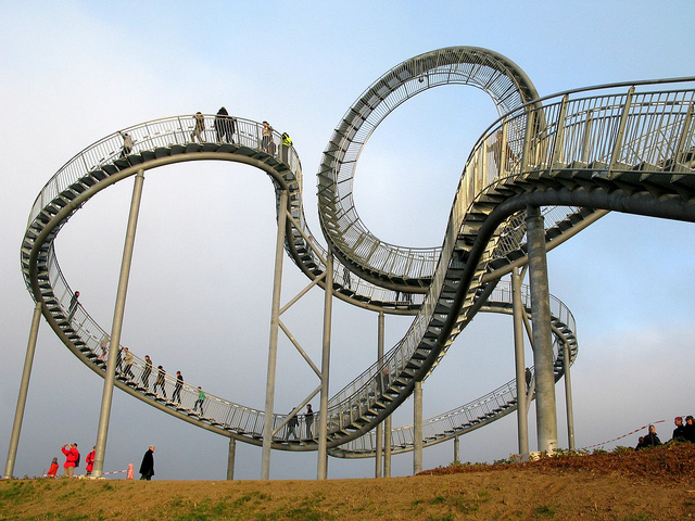 tiger and turtle the rollercoaster sculpture in germany. Black Bedroom Furniture Sets. Home Design Ideas