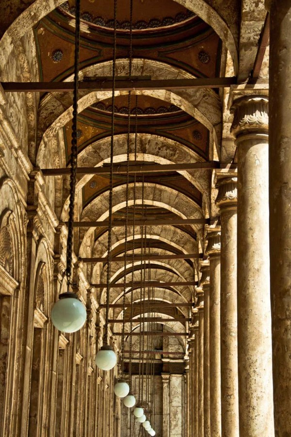 The Inside of Mohamed Ali Mosque - Copyrights © Ahmad Ghonaim