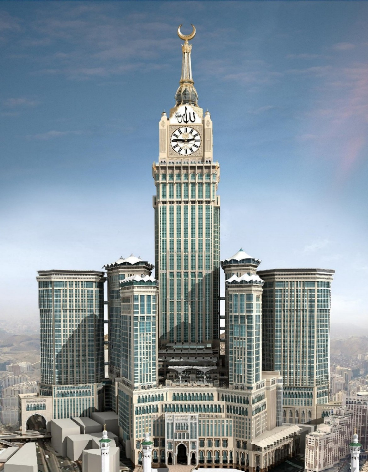 Abraj al bait tower the mecca clock tower – mecca saudi arabia