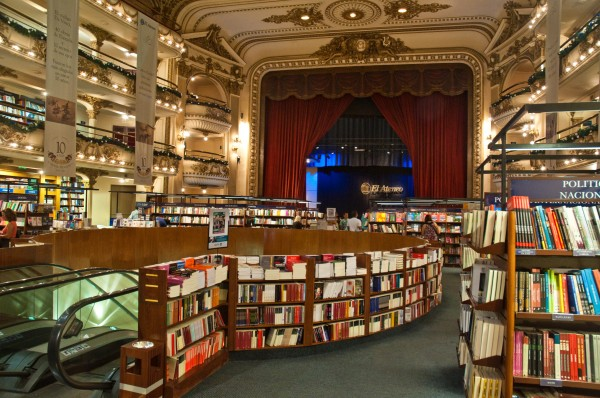 el ateneo from opera house to bookstore in buenos aires