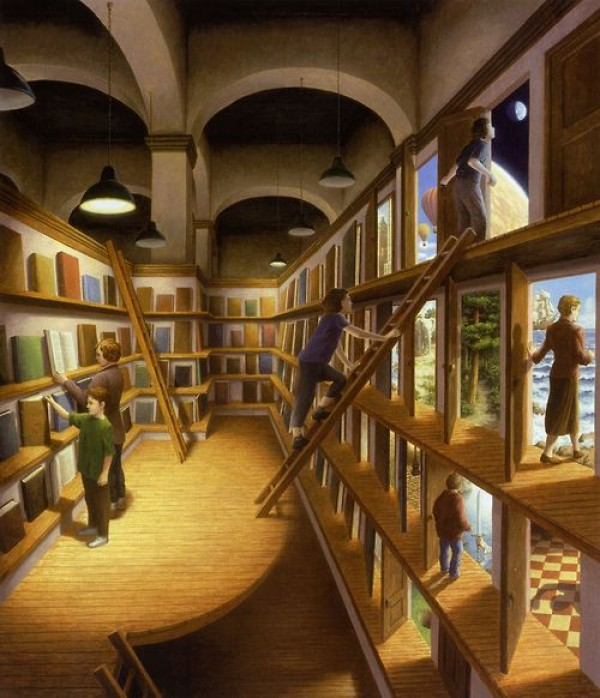 magic realism through the paintings of rob gonsalves