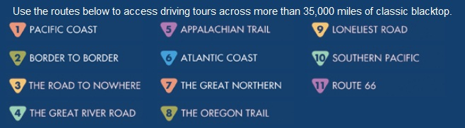 Best Road Trip Routes In The United States - Us map best roadtrip map