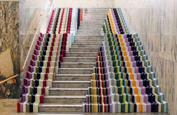 The World S Most Colorful Urban Stairs