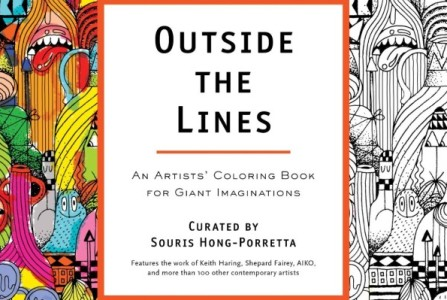 Outside the Lines - Coloring Book for Giant Imaginations